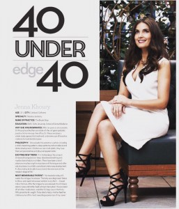 Top 40 under 40 Pediatric Dentist in Carlsbad, Dr. Jenna Khoury DMD